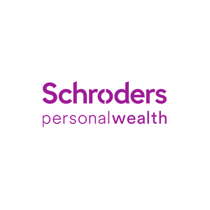 Pink Schroders Personal Wealth logo