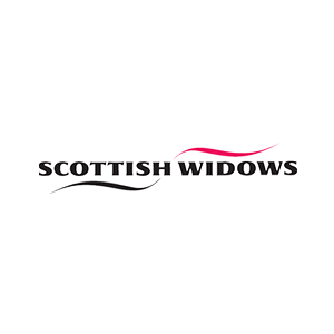 Black and red Scottish Widows logo